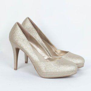 Fioni Glitter Platform Heels Women's Size 9